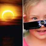 A-young-girl-with-solar-glasses-and-a-solar-eclipse-431757
